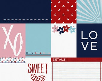 Love You Journal Cards  - INSTANT DOWNLOAD