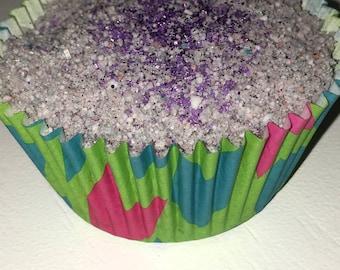 Lovely lavender bath bomb