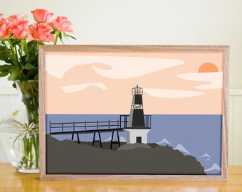 The Lighthouse | Digital Art Print | LIMITED EDITION