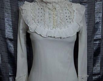 Ladies Blouse - white lady's blouse