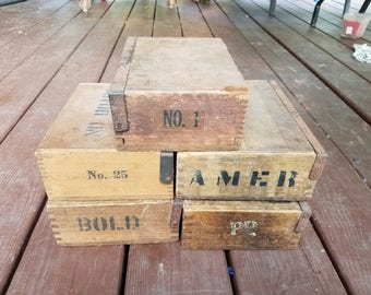 Unique Vintage Cigar Box - Conversion and Finish Ready - Custom Storage, Jewlry, Wach Box