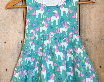 Unicorn dress,llama dress, ballerina dress,unicorn themed birthday party,unicorn birthday party, party dress,birthday dress,twirl dress