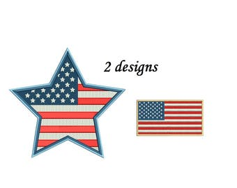 Fireworks Embroidery Design - 2 designs instant download