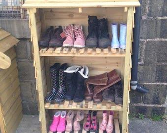 Wellington Boot Cupboard