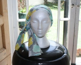 Pure silk scarf, hand made by me.