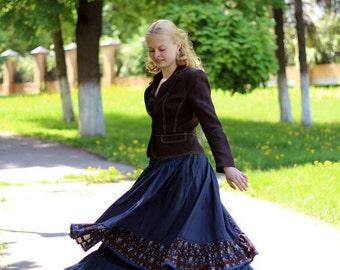 Maxi cotton skirt Aurora