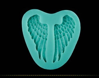 Beautiful 3D Angel Wings Silicone Mold  < Cake Fondant Mould Tools Cake Decorating >