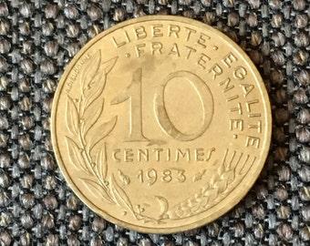 1983 France 10 centimes