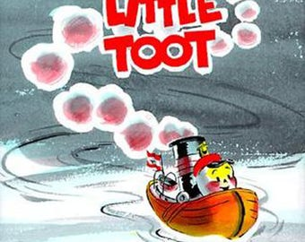 Little Toot, Hardcover 1960's Weekly Reader