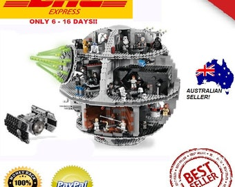 NEW! Genuine Star Wars - The Force Awakens UCS Death Star Set Building Blocks Model 4016pcs
