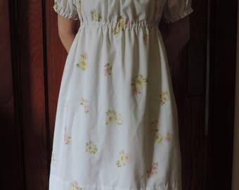 Vintage Style Peasant Dress