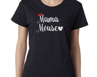 Mama Mouse - Disney Mom - Disney Mom Shirt - Disney Mom Gift - Women's Disney Shirt