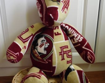 "Florida State Seminoles plush 24"" bear"