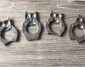 Hand forged owl Bottle opener