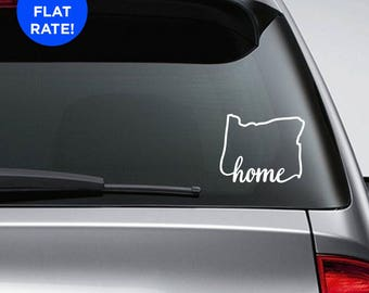 Oregon Vinyl Decal Etsy - Custom vinyl decals portland oregon