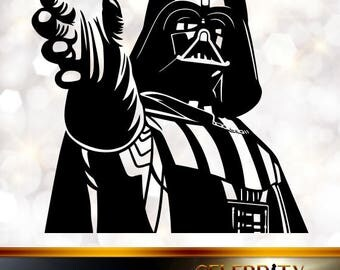 Darth Vader Silhouette, artist silhouettes, celebrity silhouette, famous people
