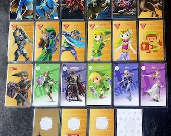 18 Laminated Zelda Amiibo Cards Premium Quality