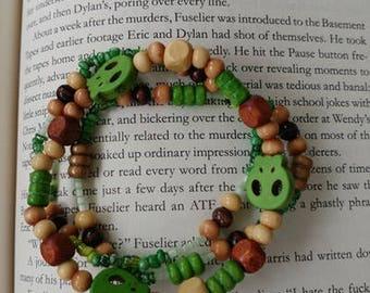 Green Skull bracelets
