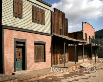 Western Ghost Town Instant Digital Photo Download