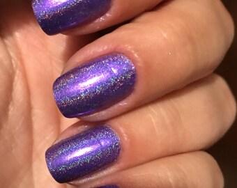 Purple Duo Chrome Holographic Polish