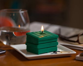 Dumpster Fire Candle (Soy)
