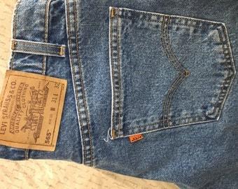 Vintage Levi's - orange tab 565