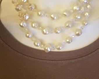 Gorgeous White Vintage Necklace