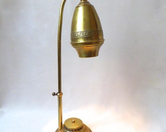 RETRO - Table lamp - bronze and brass - unique