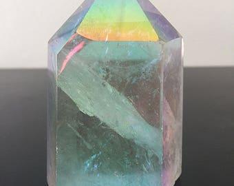 On Sale - Angel Aura Quartz Large Crystal Tower #1