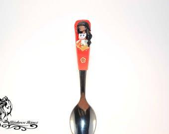 A polymer clay spoons: sheath