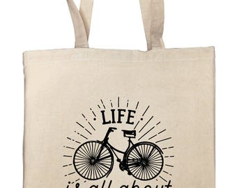 """""""Life is all about balance"""" Tote bag"""