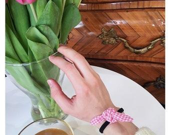 Hortense gingham scrunchie