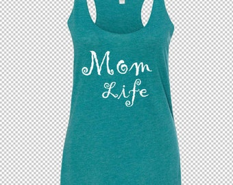 MOM LIFE Cotton Tank Top