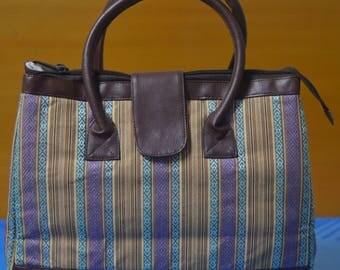 Cotton Vintage Handbag Shoulder-bag