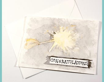 Congratulations Sparkler Card