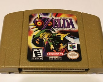 Legend Of Zelda Majora's Mask N64