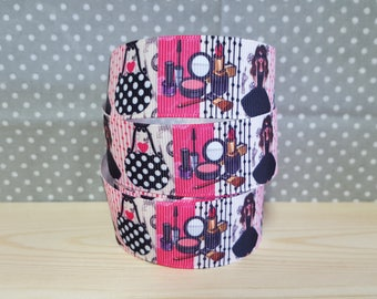 1 meter of Ribbon Gros Grain bag/fashion/makeup