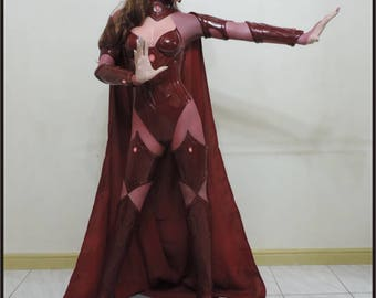 Scarlet Witch Life Size Custom Made Statue Prop