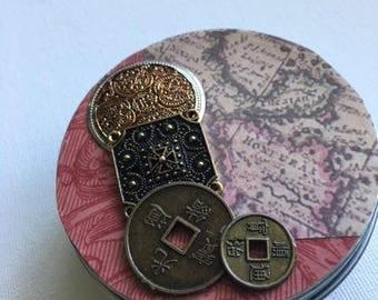 "Whimsy Tin~ ""Coins"""