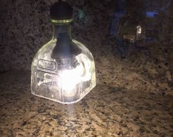 Patron Bottle Pendant Light