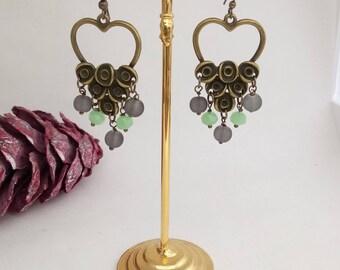 Bohemian Bronze earrings