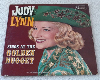 Judy Lynn, Sings At The Golden Nugget - 1962 Vintage Vinyl LP