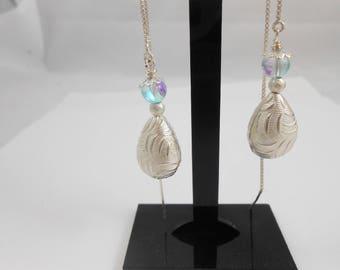 925 sterling silver Venetian earrings