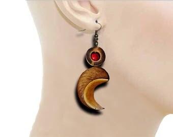 exotic vegetable earrings