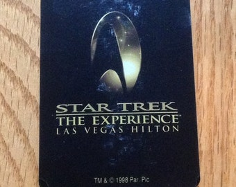 Star Trek, The Experience, Las Vegas Hilton playing cards