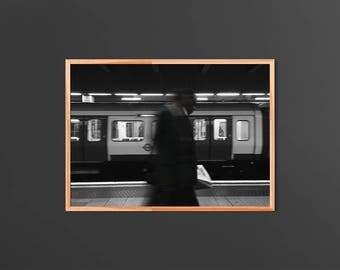RODRIGUEZ: Man Walks Across (Framed)