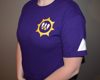Destiny Faction T-Shirt and V-Neck - Queen's Guard (Purple)