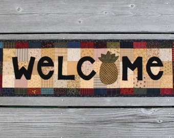 Welcome Home Quilt Pattern PDF by Jen Daly - Instant Download