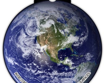 Planet Earth Car Hanging Air Freshener Scent Solar System Galaxy Scent