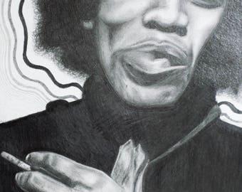 Jimmy Hendrix Print